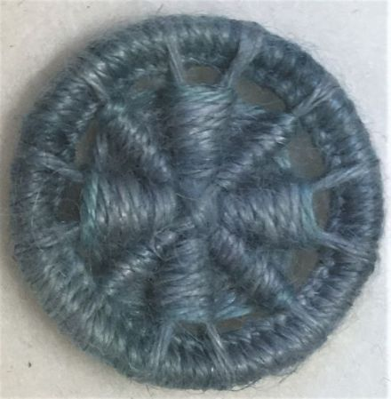 Dorset Button Kit - Templar Cross, Atlantic (plant fibre)